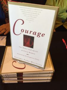 CourageBookDisplayed